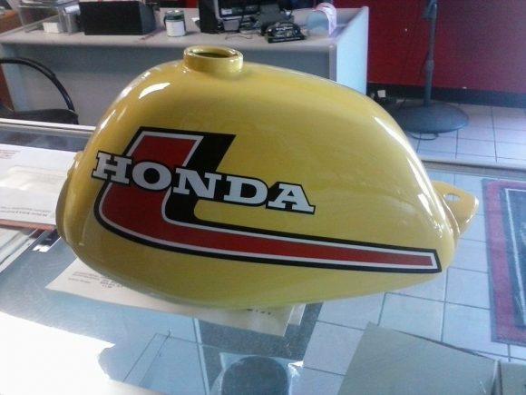 Honda Z50 Tank Restoration