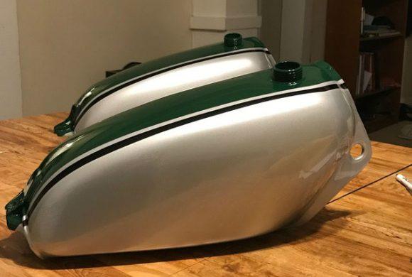 Vintage Honda Elsinore Restoration
